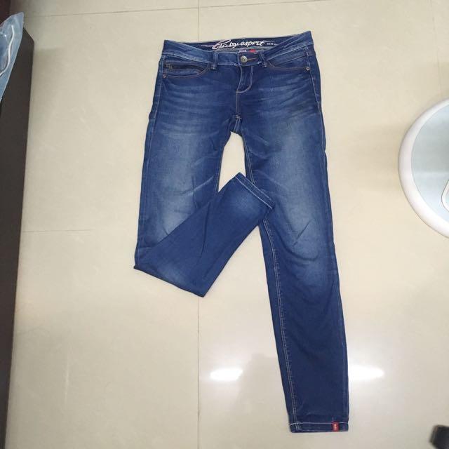 專櫃edc 緊身牛仔褲 材質超好!!