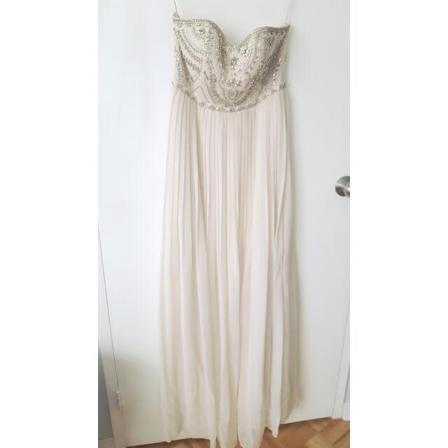 Evernew Embellished Bodice Maxi Dress