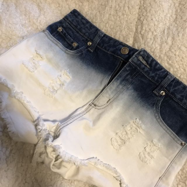 F21 Bleached Shorts