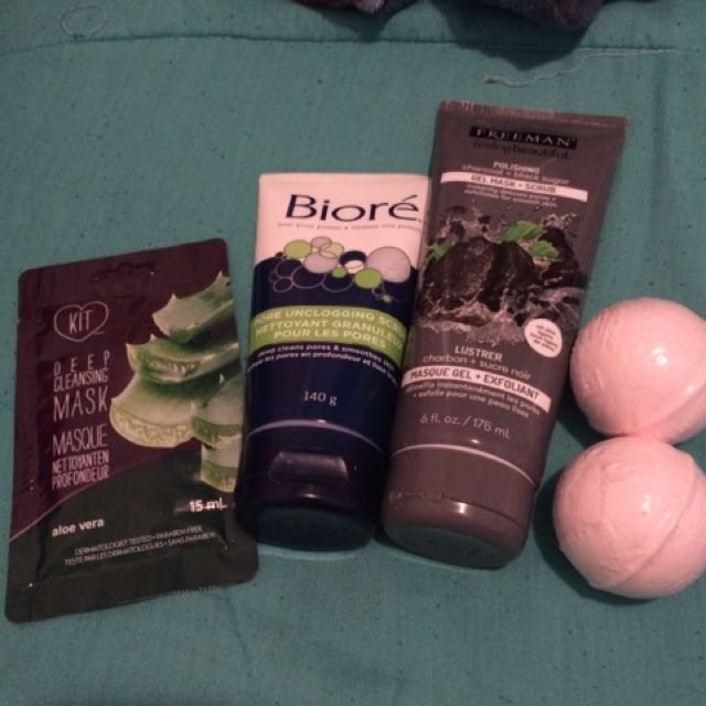 Face Masks & Bath Bombs