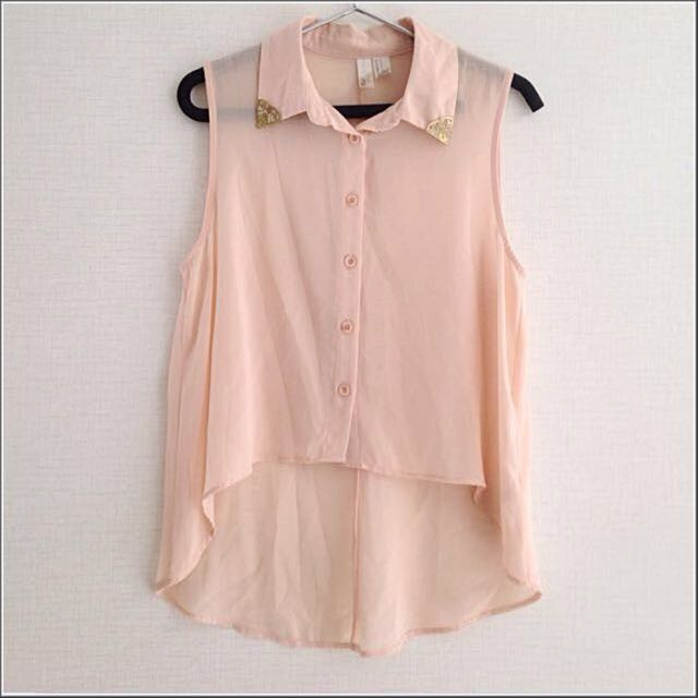 Forever21 Peach Blouse