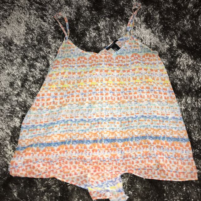 Forever 21 Pattern Top