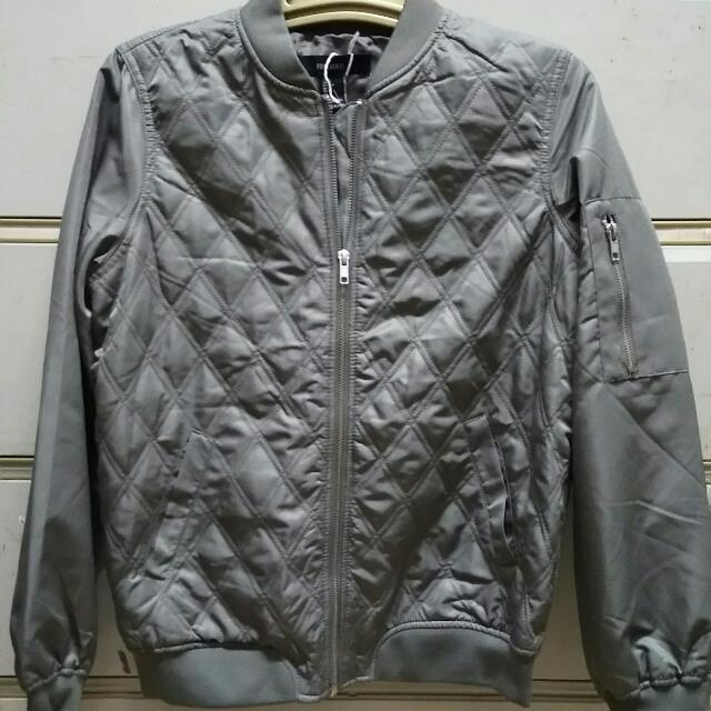 Repriced: FOREVER 21-Casual Jacket Grey