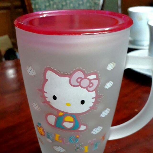 Froster Glass Tall Hello Kitty Mug