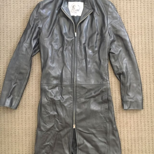 Genuine Leather Jacket Size Small