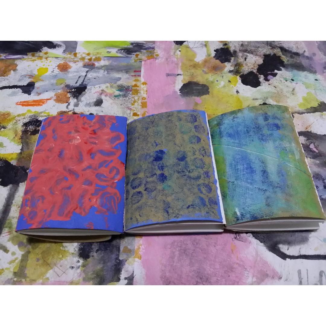 Handstitched mini notebooks