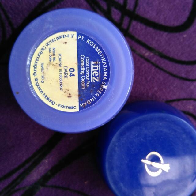 Inez Color Contur Plus Corecting Cream