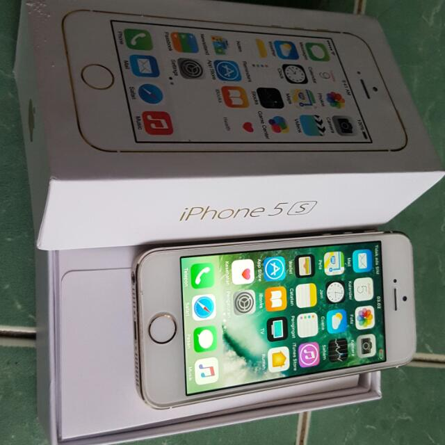 Iphone 5s 16gb Fu Gsm Ex Inter Ori 100%