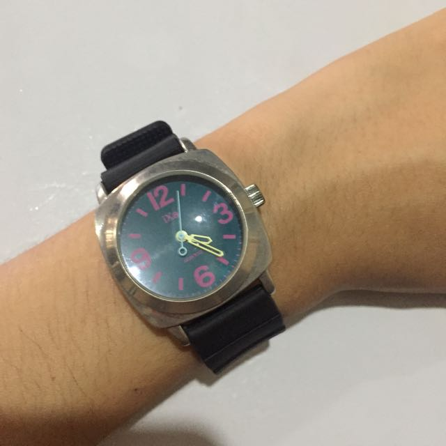 iXa Quartz Japan-Movement Watch