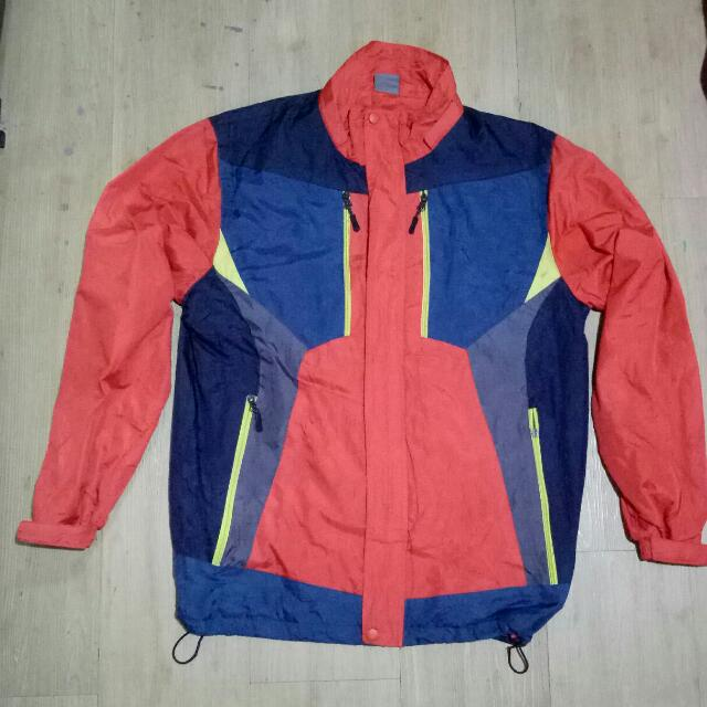 Jaket Hiking White Pia