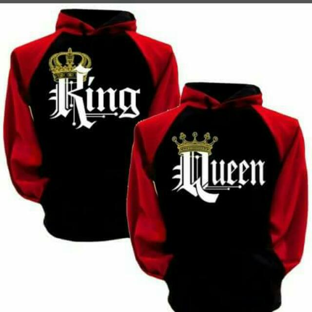King And Queen Hoddie