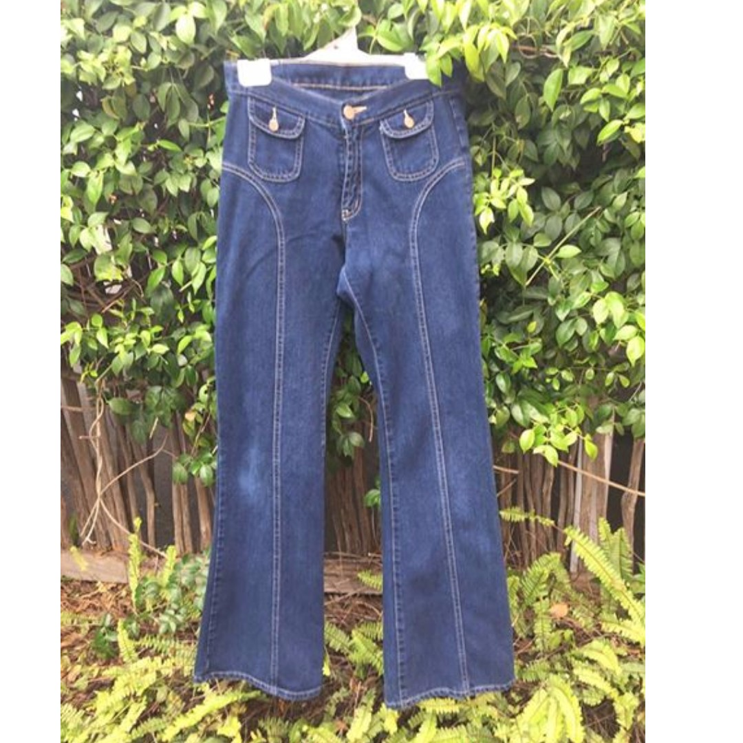 Lee flares vintage look high wasted jeans