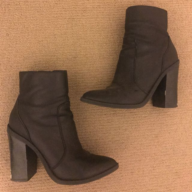 Lipstik 7.5 Leather Boots