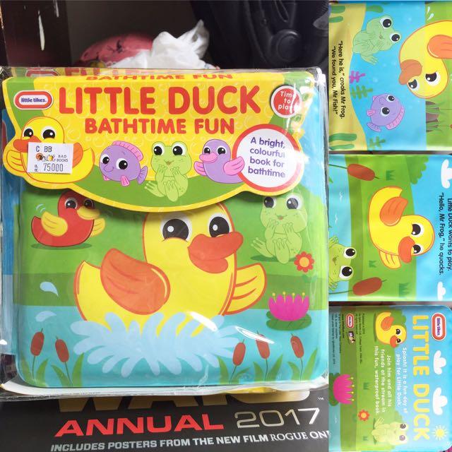 Little Tikes Bath Book - Little Duck Bathtime Fun