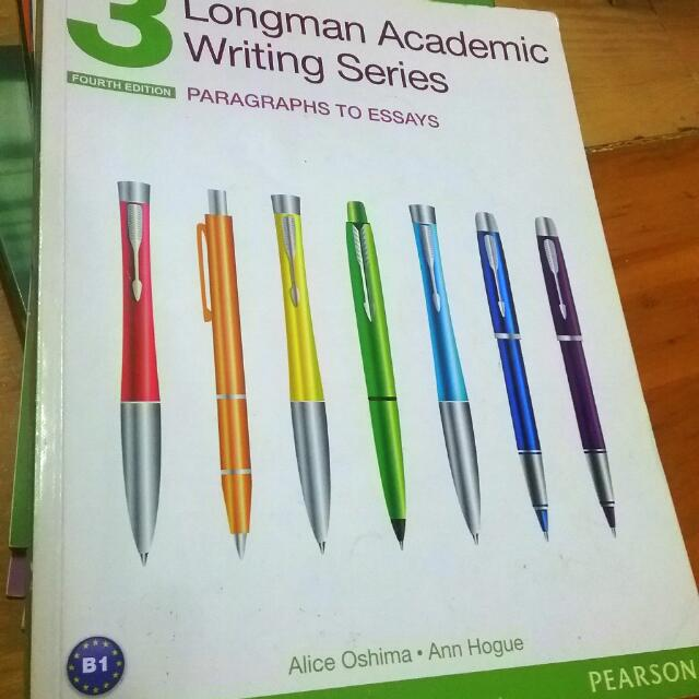 【英文寫作必備】【英文論文必備】【Longman Academic Writing Series: Paragraphs  to Essays】【4th Edition】【PEARSON出版】【B1】