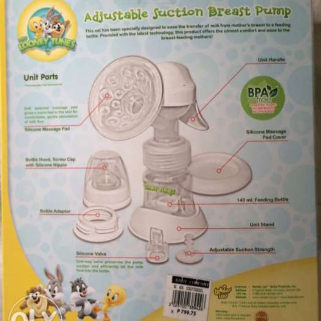 Looney Tunes Breast Pump