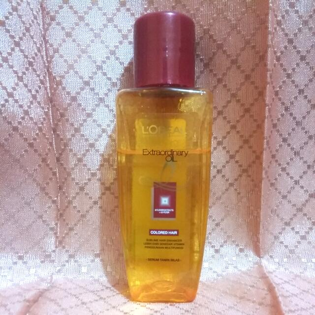 L'oreal Extraordinary Oil For Colored Hair
