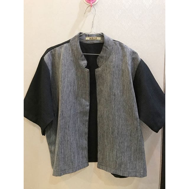 Miroir Outer Grey-black