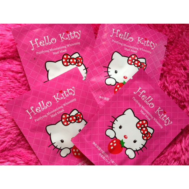 Mud Mask Hello Kitty