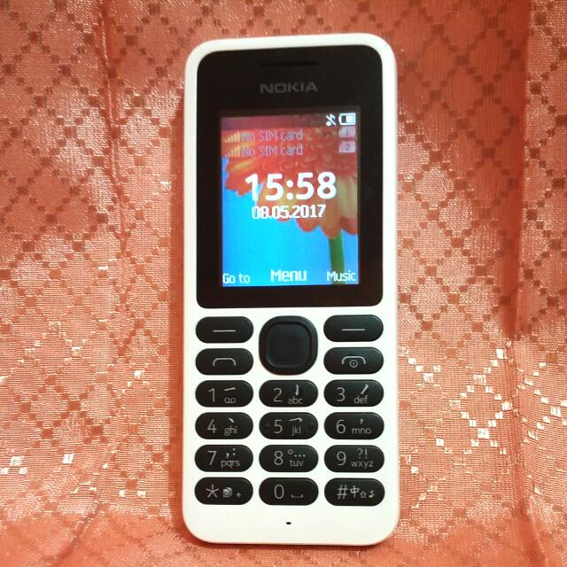 Nokia 130 White Dual SIM