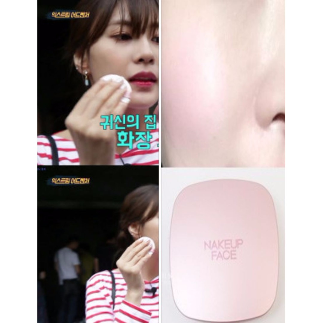 NAKEUP FACE Apink Cushion / Top ranked brand in Korea Cosmetics/concealer+foundation+essence all in one, Health & Beauty, Makeup on Carousell