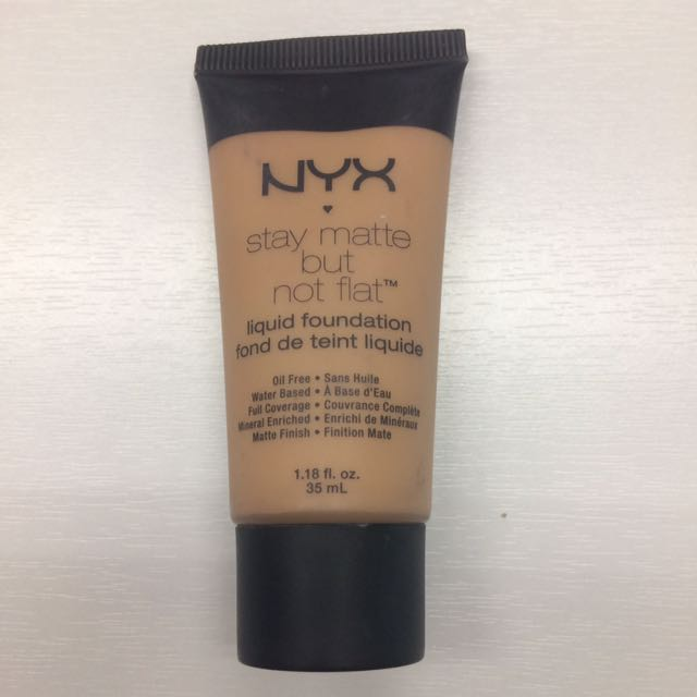 NYX Foundation Stay Matte But Not Flat
