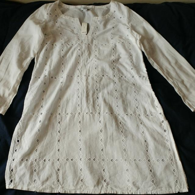 Old Navy - White Long Sleeve Shirt