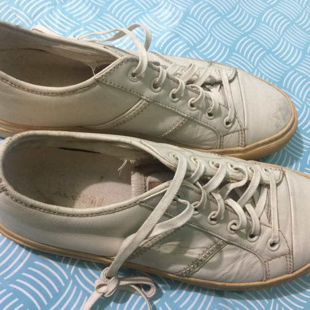 Original Lacoste White Shoes