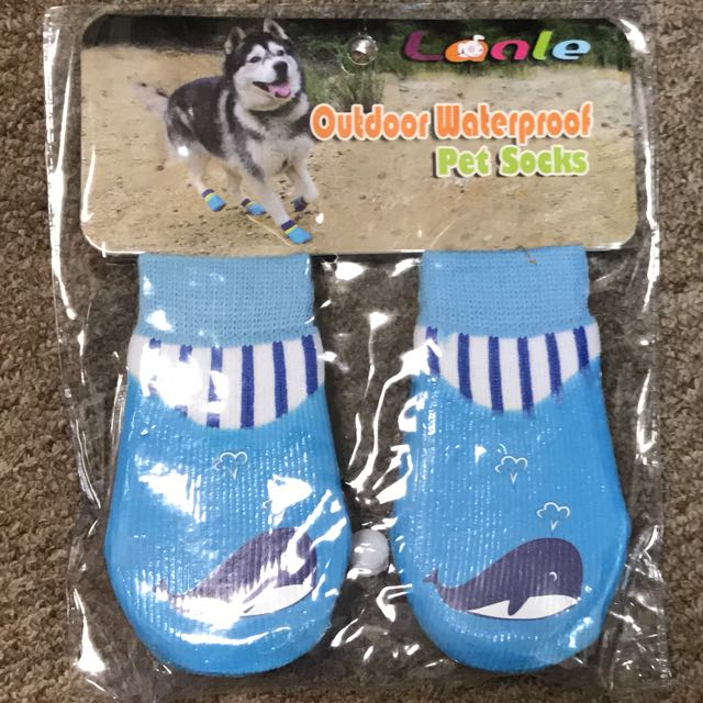Outdoor Waterproof Pet Sock fd8e28124b44