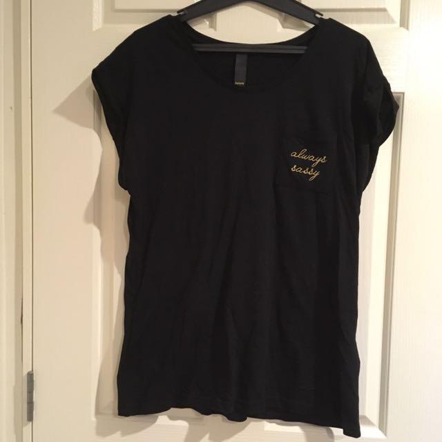 Plain Black Factorie Shirt
