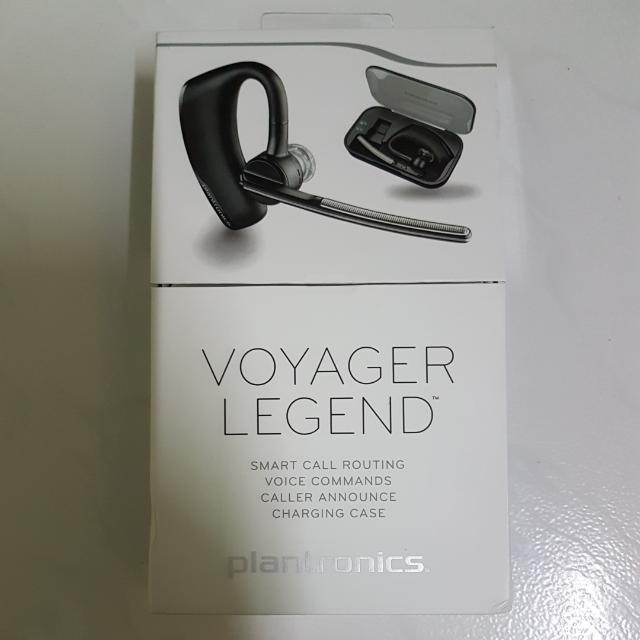 Plantronics Voyager Legend Bluetooth Headset With Charging Case Mobile Phones Tablets Mobile Tablet Accessories On Carousell