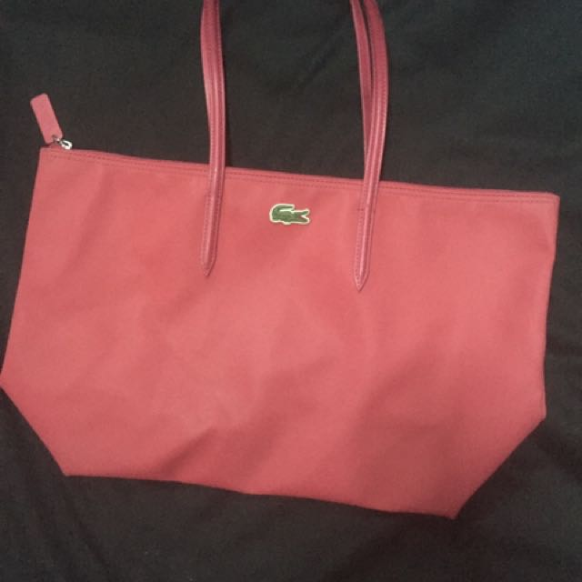 Pre Owned Lacoste Bag