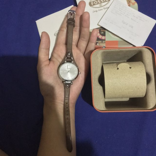 Preloved Jam Tangan Fossil