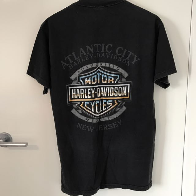 RARE Vintage Harley Davidson Authentic Pinup Girl Tshirt