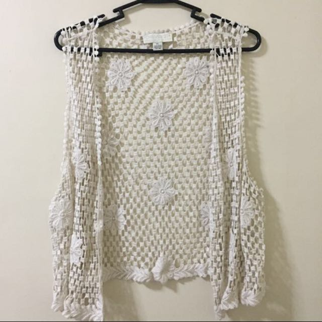 REPRICED! FOREVER 21 | Crotchet Vest