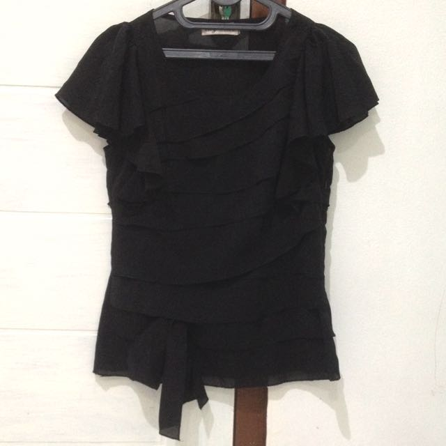 RIBBON BLACK TOP