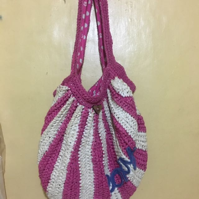 Roxy Beach bag made of paper