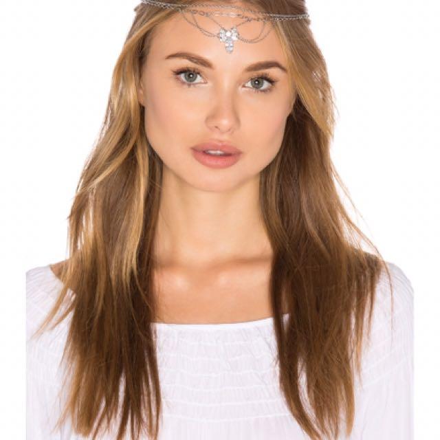 samantha wills bridal silver headpiece