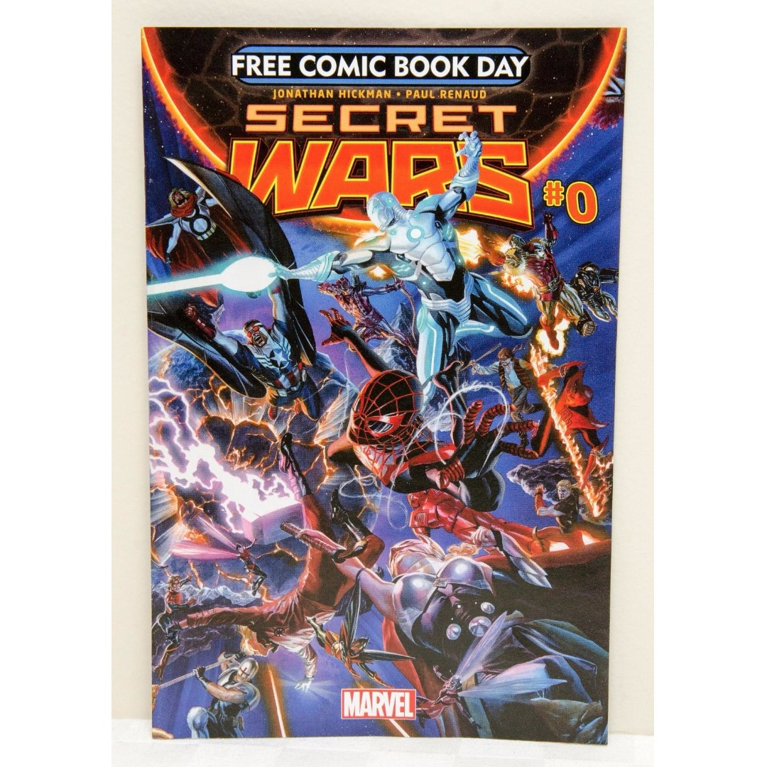 Secret Wars #0 Comic - Marvel - Free Comic Book Day