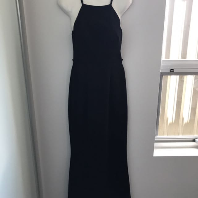 Seduce Black Evening Dress Size 6