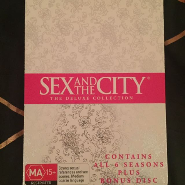 Sex And The City Entire Series Box Set