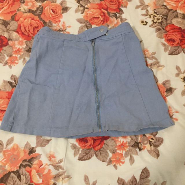Size 6 Glassons Denim Mini Skirt