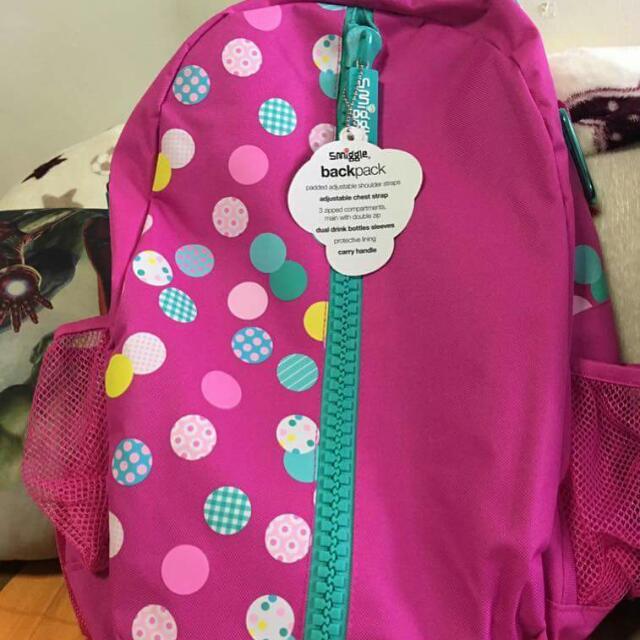 Smiggle Back Pack Bag
