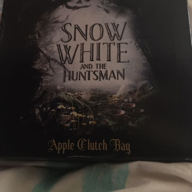 Snow White Apple Clutch Bag