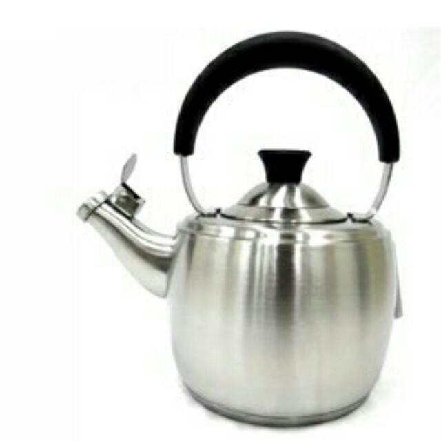 SODAMAIN 仙德曼 304 不鏽鋼 笛音 茶壺 1.5L SS151 茶壺 開水壼 冷水壼