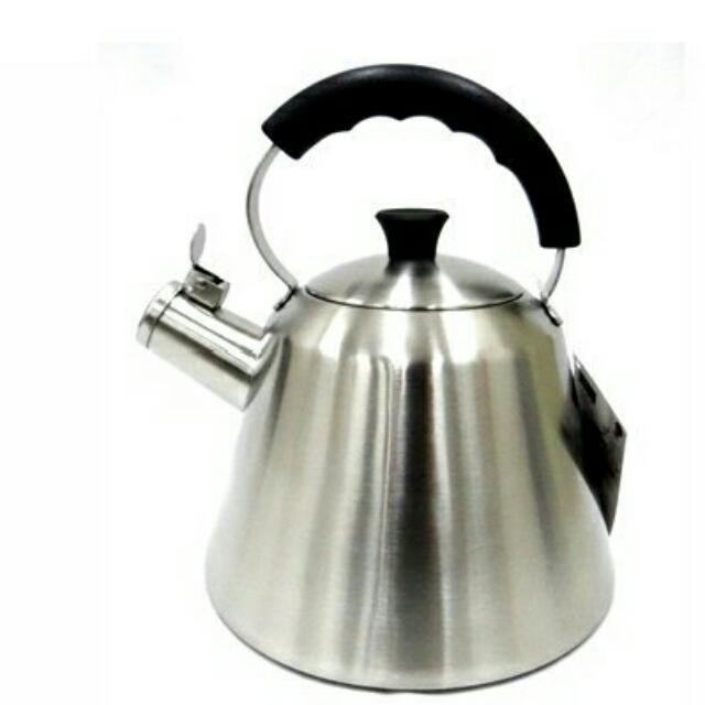 SODAMAIN 仙德曼 304 不鏽鋼 笛音 茶壺 2.5L SS253 茶壺 開水壼 冷水壼