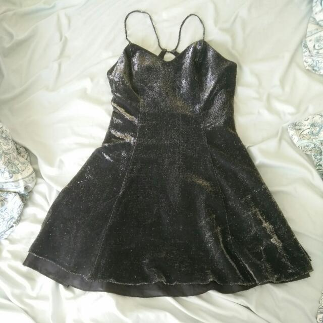 Sparkly Formal Dress: Size S/M