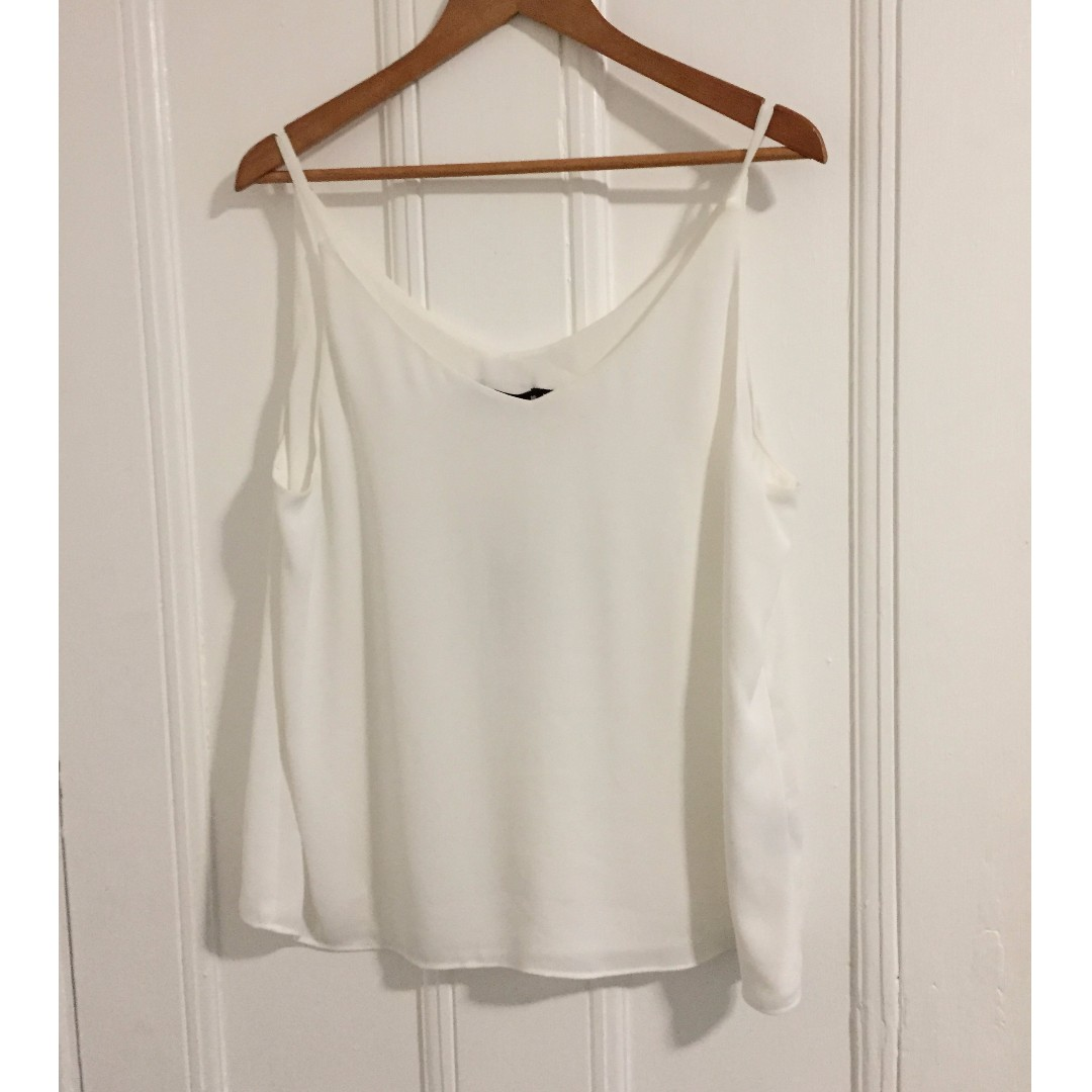 Sportsgirl white top