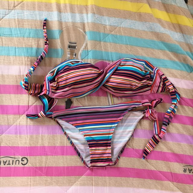 Stripes Bikini Set