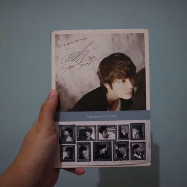 Super Junior 2012 Diary